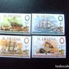 Sellos: SAINTE-HELENE ST HELENA 1973 COMPAGNIE DE L´INDE ORIENTALE YVERT 265 / 68 ** MNH. Lote 73733251
