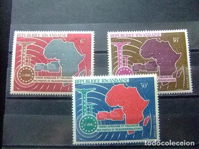 Rwanda 1967 Union Africaine Et Malgache Telec Buy Other Stamps Of Africa At Todocoleccion 74249295