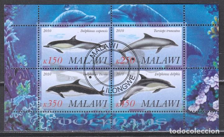 MALAWI. HB 2010. DELFINES .*,MH (17-183) (Sellos - Extranjero - África - Otros paises)