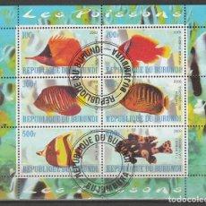 Sellos: REPUBLICA DE BURUNDI HB 2009. PECES EXOTICOS .*,MH (17-188). Lote 75341763