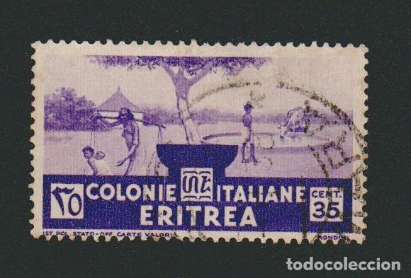ERITREA.COLONIA ITALIANA.1933.-35 CENT.YVERT 200.USADO. (Sellos - Extranjero - África - Otros paises)