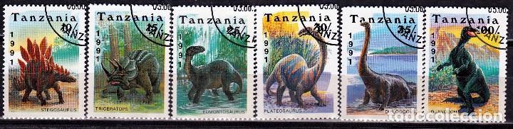 1991 TANZANIA : TEMATICA DINOSAURIOS .. *.MH (17-478) (Sellos - Extranjero - África - Otros paises)