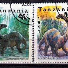 Sellos: 1991 TANZANIA : TEMATICA DINOSAURIOS .. *.MH (17-478). Lote 77670641