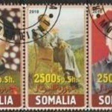 Sellos: REPUBLICA DE SOMALIA. 2010. SERIE. MAO ZEDONG *,MH. Lote 82730044