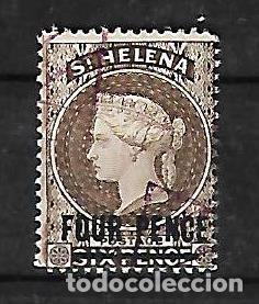 SANTA HELENA 1884-94 EFIGIE DE LA REINA VICTORIA USADO (Sellos - Extranjero - África - Otros paises)