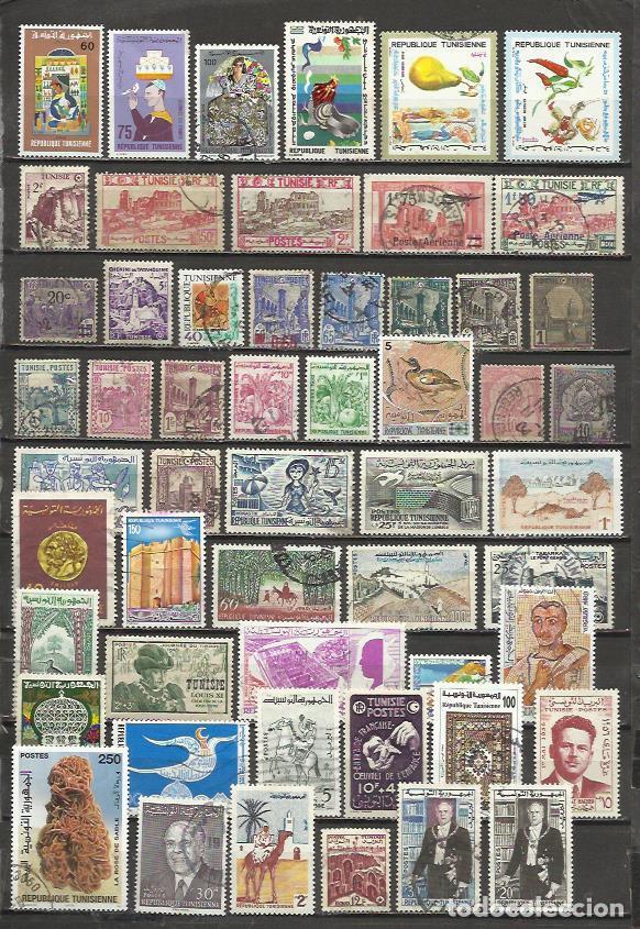 G144-LOTE SELLOS ANTIGUOS TUNEZ,ANTIGUA COLONIA FRANCESA,TERRITORIO DE FRANCIA,AFRICA,SIN TASAR,SIN (Sellos - Extranjero - África - Otros paises)