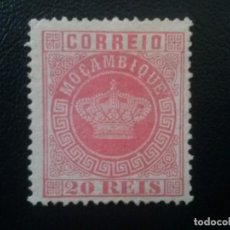 Sellos: MOZAMBIQUE MOÇAMBIQUE , COLONIA PORTUGAL , YVERT Nº 11 , REIMPRESIÓN DE ÉPOCA. Lote 86025120