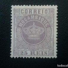 Sellos: MOZAMBIQUE MOÇAMBIQUE , COLONIA PORTUGAL , YVERT Nº 12 , REIMPRESIÓN DE ÉPOCA. Lote 86025256