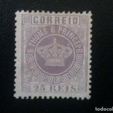 Sellos: TOMÉ Y PRÍNCIPE , COLONIA PORTUGAL , YVERT Nº 12. Lote 86030948
