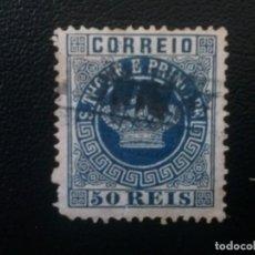 Sellos: TOMÉ Y PRÍNCIPE , COLONIA PORTUGAL , YVERT Nº 6. Lote 86031052