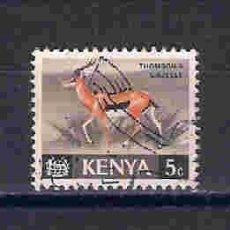 Sellos: FAUNA SALVAJE. KENYA. SELLOS AÑO 1966/9. Lote 87599488