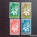Sellos: LESOTHO 1966 UNESCO YVERT 123 /26 * MH. Lote 90587485