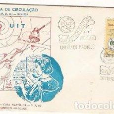 Sellos: MOÇAMBIQUE & FDC ULTRAMAR, CENTENARIO DE LA UIT, UNIÓN INTERNACIONAL DE TELECOMUNICACIONES (431). Lote 91408940