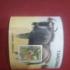 Sellos: SELLOS DE TANZANIA. HB IMPALA. TANZANIA HB. 1. FAUNA. NATURALEZA. ANIMALES. . Lote 91501413