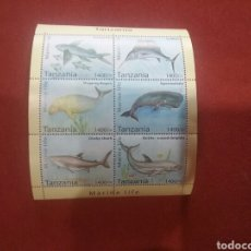 Sellos: SELLOS DE TANZANIA. HB PECES. TANZANIA HB. 6. FAUNA. PECES. ANIMALES. . Lote 91509229