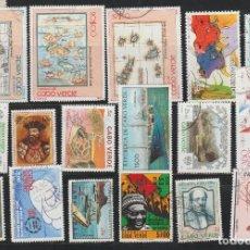 Sellos: LOTE DE SELLOS USADOS DE CABO VERDE AFRICA USADOS . Lote 95715651