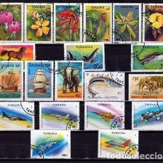 Sellos: TANZANIA. LOTE SELLOS DIFERENTES. (17-729)*.MH. Lote 95855539