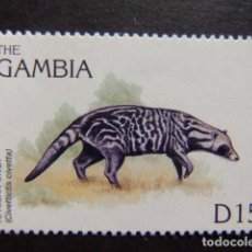 Sellos: GAMBIA GAMBIE 1996 FAUNA VIE SAUVAGE EN AFRICA YVERT 2033 ** MNH. Lote 95969579