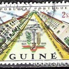 Sellos: GUINEA BISSAU, GUINEA PORTUGUESA 1966 - USADO. Lote 99342631