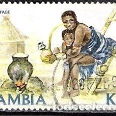 Sellos: ZAMBIA 1981 - USADO. Lote 100514435