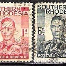 Sellos: ZIMBABWE, RHODESIA SUR 1937 - USADO. Lote 100516767