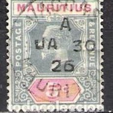 Sellos: MAURICIO - JORGE V - USADO. Lote 100517759