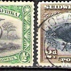 Sellos: NAMIBIA, AFRICA DEL SUROESTE 1931 - USADO. Lote 100518239