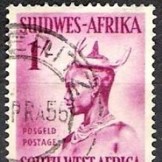 Sellos: NAMIBIA, AFRICA DEL SUROESTE 1954 - USADO. Lote 100518591