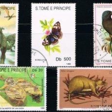 Sellos: S. TOME Y PRINCIPE - LOTE DE 5 SELLOS - VARIOS (USADO) LOTE 3. Lote 101558443