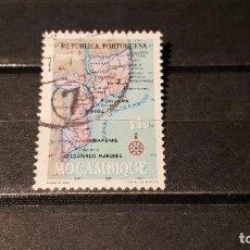 Sellos: SELLO USADO MOZAMBIQUE. MAPA DE MOZAMBIQUE. 15 OCTUBRE 1954. YT:MZ 442. Lote 101561719