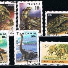 Sellos: TANZANIA - LOTE 10 SELLOS - ANIMALES (USADO) LOTE 1. Lote 101686359