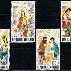 Sellos: TOGO - LOTE DE 6 SELLOS - NAVIDAD (NUEVO) LOTE 2. Lote 101751983