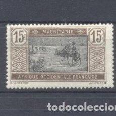 Sellos: MAURITANIA, 1913-19 YVERT TELLIER 22 NUEVO . Lote 116167263