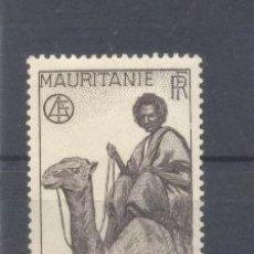 Sellos: MAURITANIA, 1938 YVERT TELLIER 73 NUEVO. Lote 116167443