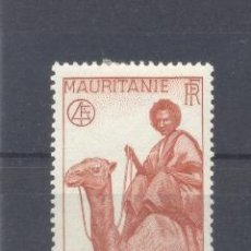 Sellos: MAURITANIA, 1938 YVERT TELLIER 76 NUEVO . Lote 116167579