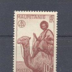 Sellos: MAURITANIA, 1938 YVERT TELLIER 77 NUEVO . Lote 116167659