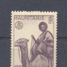 Sellos: MAURITANIA, 1938 YVERT TELLIER 78 NUEVO . Lote 116167743