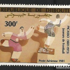 Sellos: DJIBOUTI 1981 - YT PA153 - CENTENARIO DE PICASSO - MNH**. Lote 119459959
