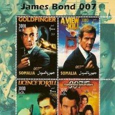 Sellos: SOMALIA ** & CLASSICOS 007, JAMES BOND 2004 (7677). Lote 125192558