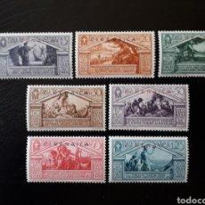 Sellos: CIRENAICA. COLONIA ITALIANA. YVERT 76/82. FALTA 83/4. SERIE CORTA NUEVA SIN CHARNELA. SOBRECARGADOS.. Lote 131156320