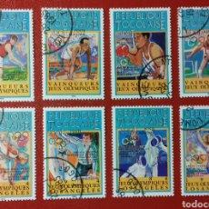 Sellos: SELLOS DE LOS JUEGOS OLÍMPICOS DE LOS ANGELES '84. Lote 133867371