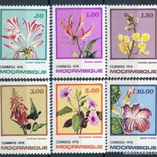 Sellos: MOZAMBIQUE 1978 IVERT 651/6 *** FLORES DE MOZAMBIQUE - FLORA. Lote 134273254