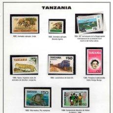 Sellos: 10 SELLOS TANZANIA . Lote 135918062
