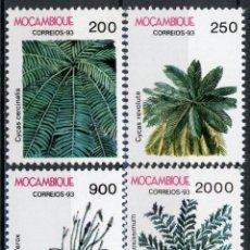 Sellos: MOZAMBIQUE 1993 IVERT 1255/58 *** FLORA - PLANAS DIVERSAS. Lote 138599318