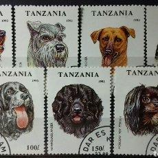 Sellos: SELLOS DE TANZANIA, PERROS 1993. Lote 140194385