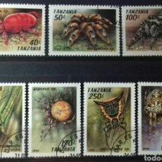 Sellos: SELLOS DE TANZANIA, ARÁCNIDOS 1994. Lote 140195738