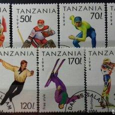 Sellos: SELLOS DE TANZANIA, JUEGOS OLÍMPICOS DE LILLEHAMMER 1994. Lote 140196280