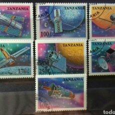 Sellos: SELLOS DE TANZANIA, SATÉLITES 1994. Lote 140196392