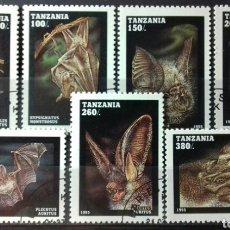 Sellos: SELLOS DE TANZANIA, MURCIÉLAGOS 1995. Lote 140196701