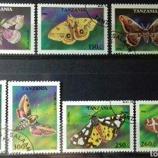 Sellos: SELLOS DE TANZANIA, MARIPOSAS 1996. Lote 140196760